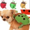 UW-PBP-0004 Top quality beetle shape plush pet packsack bags for dogs and cats