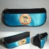 customized double zip school pen bag