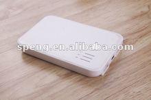 External Power Pack For Iphone 4,Ipad 2,Blackberry(5000MAH 2 USB)