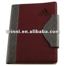 pocket diary with pen