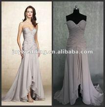 N023 Free shipping ball Ruffle chiffon fashion evening dress formal designer dress 2012
