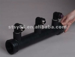 HDPE butt joint pipe and fitting