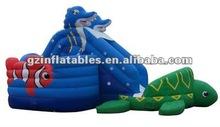 2012 new inflatable Ocean Slide Combo