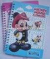 notebook de mickey mouse