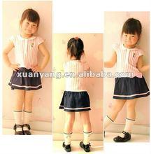 2012 fashion 100% cotton girl in short skirt,yong children pettiskirt