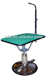 Hydraulic pet grooming square table
