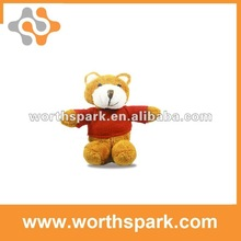 real capacity OEM PVC animal shape usb promotion gift USB