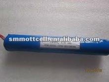 9.6V 5Ah lifepo4 battery pack