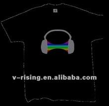 Hot Sale 100% cotton el panel t shirt 2012