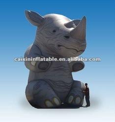 inflatable animal moscot Inflatable Rhino
