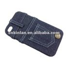 New and Hot Selling Fashionable Jeans Case for Apple's iPhone 4/4S