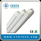 Shenzhen led G13 tube light T8 free tube(Cesta-T8 8w)