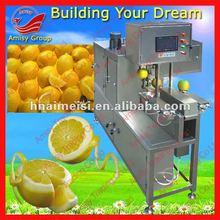 New lemon peeling skin removing and slicing machine 0086-13733199089