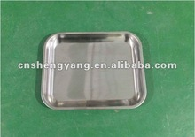 Hot!!! 2012 Stainless steel serving tray