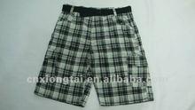2012 mens fashion cargo shorts with belt
