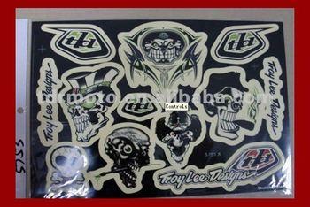 HOT SALE dirt bike/motorcycle stickers