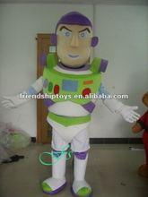 2012 buzz lightyear traje de la mascota