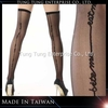 2032 Sheer Thigh High With Back Seam