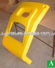 Vacuum forming machine cover, ABS shell, yellow ABS