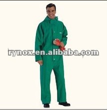 Multiple liquid chlorine solvent chemical free protective clothing