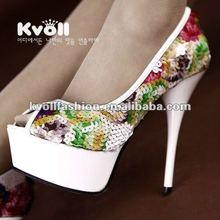 Fashion ladies shoes women shoes high heel 2012