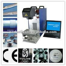 Aluminum oxide color ,bar code,fiber laser marking/engraving machine