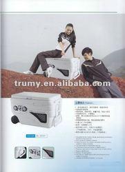 cooler box with radio