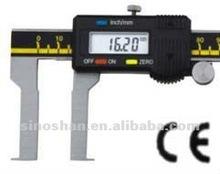 115 - 320 - 3 35 - 170 mm Big LCD novo tipo mecânico de slides interno sulco Digital calibres Vernier