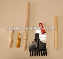 VARIOUS CHOICES wooden broom handle cover pvc floor mop stick ,,metal broom handles of HIGH QUALITY