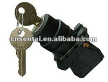 XB5-AG21 2-position locked button key switch,push button switch