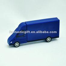 promotional blue truck shape 2GB - 8GB USB flash drives