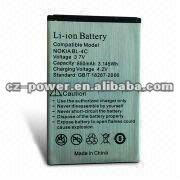 li-ion mobile battery BL-4C