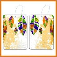 Hanging Paper Air Freshener For Car;perfume card