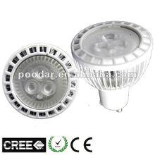 gu10/e27 socket large emitting angle led bulb