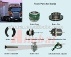 Scania truck spare parts