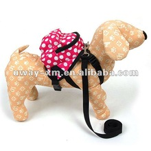 UW-PBP-0019 Promotional oxford rose pink pet accessories dog carrier in various types, manifold sizes are available for dogs