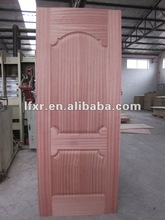 sapelli molded veneer door skin