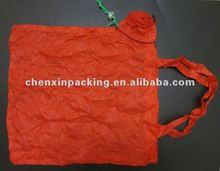flower shaped polyester foldable shopping bag