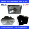 ABS plastic Clear motorcycle head light AX100