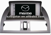New Mazda 6 Multimedia Car Video Player Product Video 7 inch with GPS Bluetooth,IPOD,USB,TV Radio 8V-CDC PIP