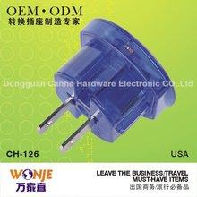 Nice universal power plug socket(110V-250V) using in US/UK/EU/AUST
