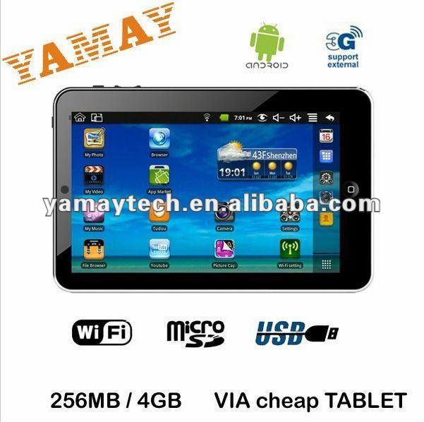 7inch VIA 8650 super general tablet pc