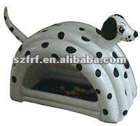 Animal shape design inflatable ball pool