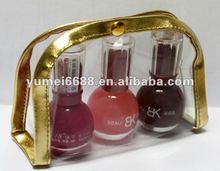 2012 latest designed high quality mini clear pvc cosmetic bag
