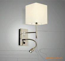Simplicity Modern Wall Lamp Sconce Chrome Light 3W