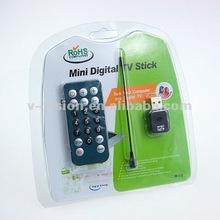 Digital USB HD mini satellite tv receiver Remote Control with Full DVB-T