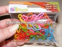 crazy shaped rubber band ,memory bandz reptile animal snake