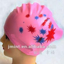 2012 colorful swim ear cap