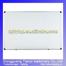 White board cork board message board plastic