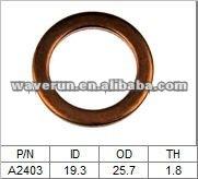 Oil Drain Plug Gaskets copper